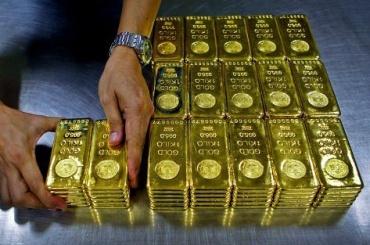 Россия выбилась напятое место вмире позапасам золота