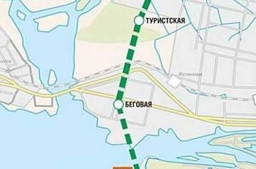 Смольный начал проектировать территорию для Невско-Василеостровской линии метро