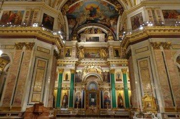 Интерьеры Исаакиевского собора отреставрируют за48 млн