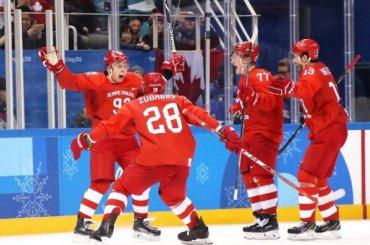 Сборная России похоккею выиграла золото наОлимпиаде