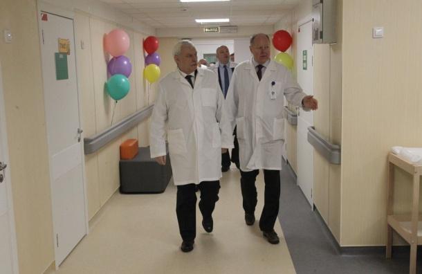 Детское онкологическое отделение открылось вПетербурге