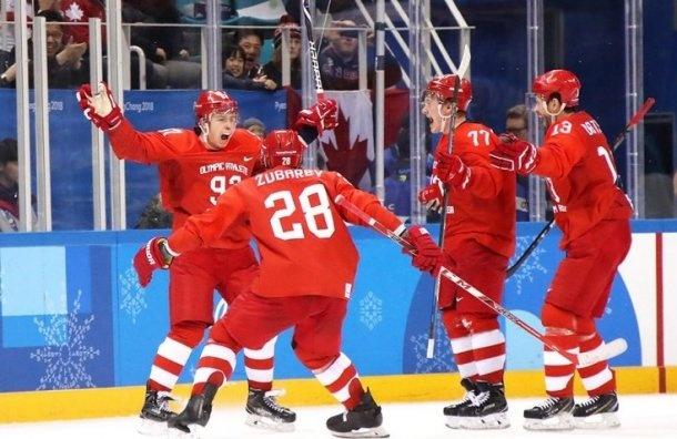 Полтавченко поздравил российских хоккеистов спобедой наОлимпиаде