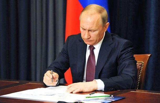 Путин назначил главного следователя петербургской полиции