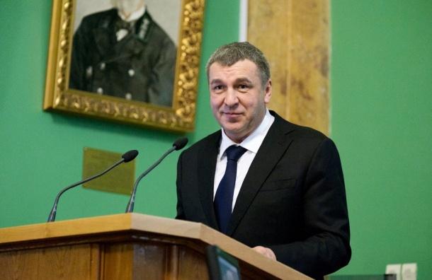 Торопливый вице-губернатор поздравил Полтавченко сднем рождения заранее