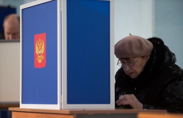 Путин набирает вПетербурге 75% голосов