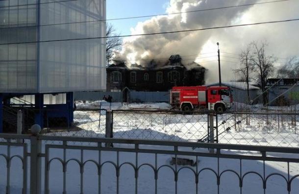 Историческая дача горела вЛевашово
