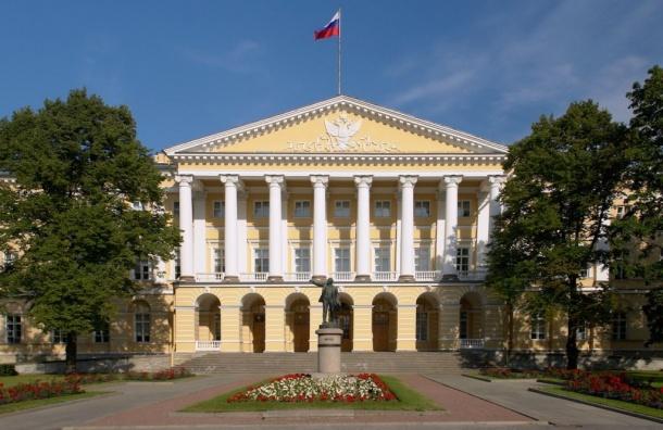 Заседание правительства Петербурга началось сминуты молчания