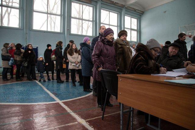 Выборы президента России в Петербурге 18 марта 2018  12