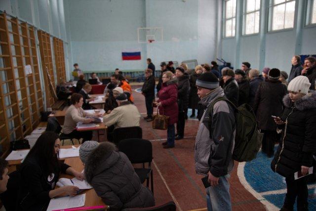 Выборы президента России в Петербурге 18 марта 2018  17