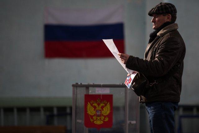 Выборы президента России в Петербурге 18 марта 2018  6