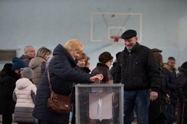 Выборы президента России в Петербурге 18 марта 2018  22