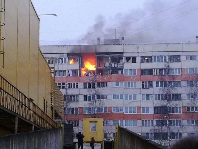 Взрыв в доме в Петербурге на Народного Ополчения, 13.03.18  3