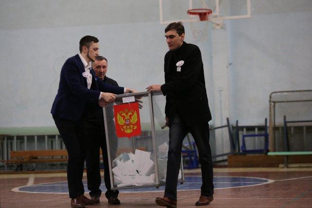 Выборы президента России в Петербурге 18 марта 2018  24