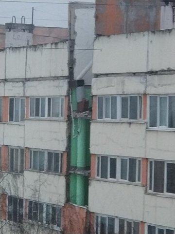 Взрыв в доме в Петербурге на Народного Ополчения, 13.03.18  4