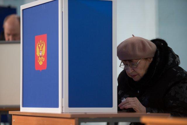 Выборы президента России в Петербурге 18 марта 2018  8