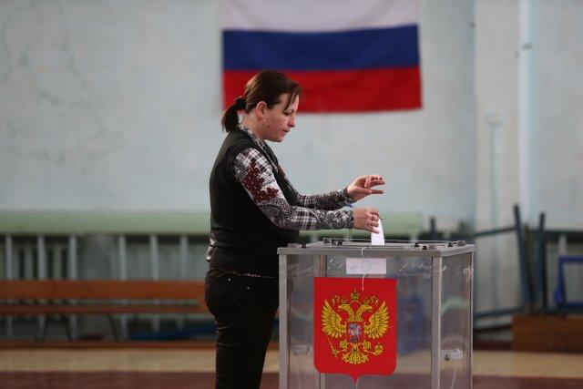 Выборы президента России в Петербурге 18 марта 2018  9