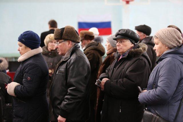 Выборы президента России в Петербурге 18 марта 2018  15