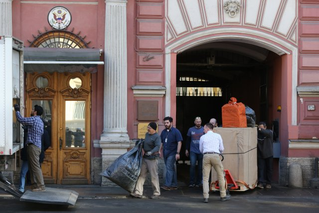 Закрытие генконсульства США в СПб 18