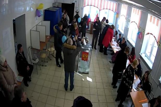 Очереди в Шушарах, 18 марта, выборы  1