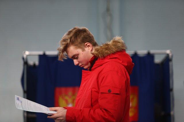 Выборы президента России в Петербурге 18 марта 2018  16