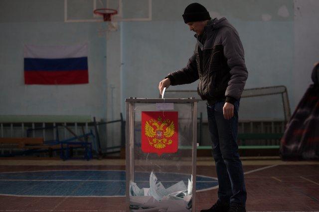 Выборы президента России в Петербурге 18 марта 2018  3
