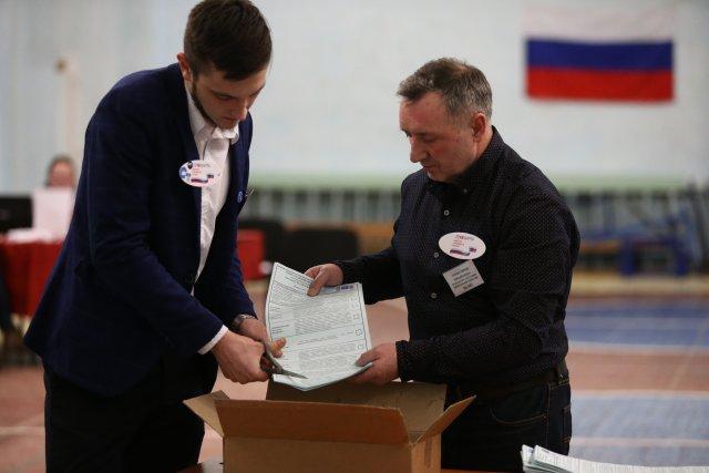 Выборы президента России в Петербурге 18 марта 2018  19