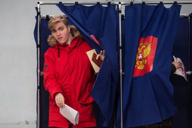 Выборы президента России в Петербурге 18 марта 2018  7