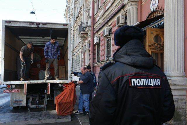 Закрытие генконсульства США в СПб 13