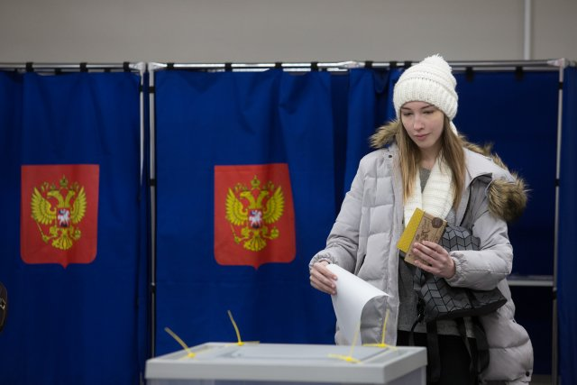 Выборы президента России в Петербурге 18 марта 2018  23