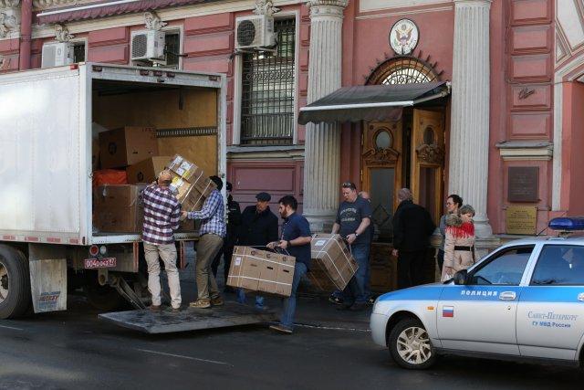 Закрытие генконсульства США в СПб 17