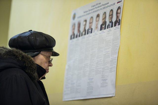 Выборы президента России в Петербурге 18 марта 2018  10