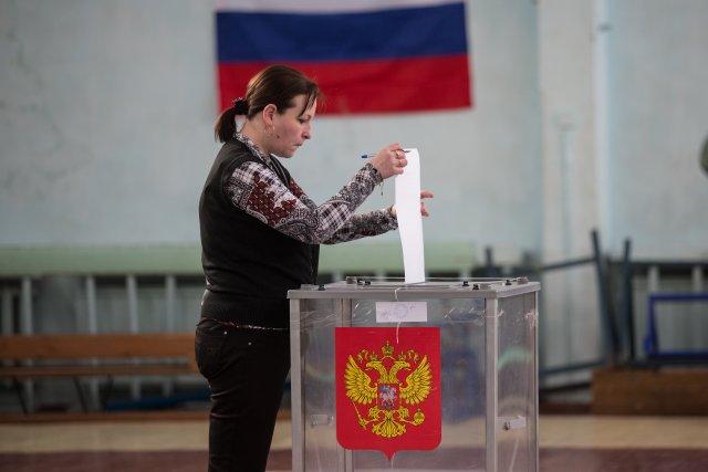 Выборы президента России в Петербурге 18 марта 2018  4