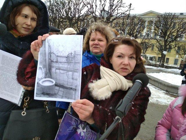 митинг многодетных 11 марта спб  4