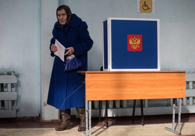 Выборы президента России в Петербурге 18 марта 2018  5