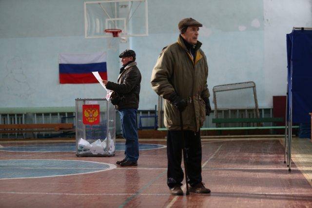Выборы президента России в Петербурге 18 марта 2018  13
