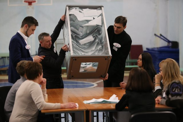 Выборы президента России в Петербурге 18 марта 2018  26