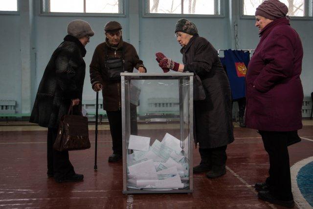Выборы президента России в Петербурге 18 марта 2018  21