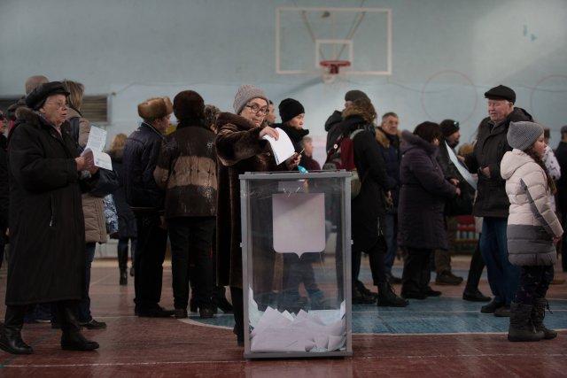 Выборы президента России в Петербурге 18 марта 2018  14