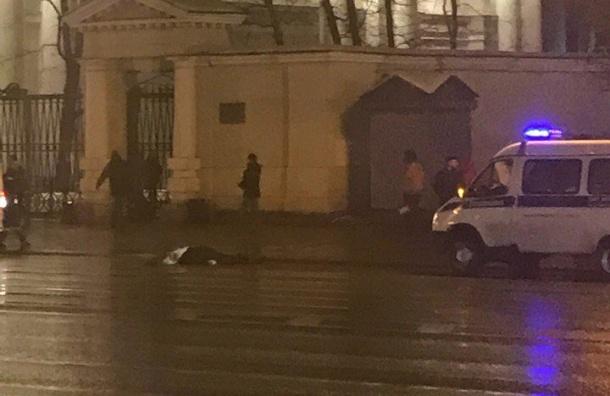 Пешехода сбили насмерть наНевском проспекте