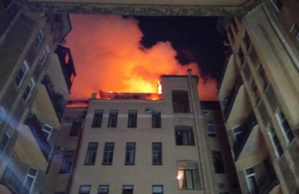 Пожар вдоме наулице Куйбышева ликвидирован