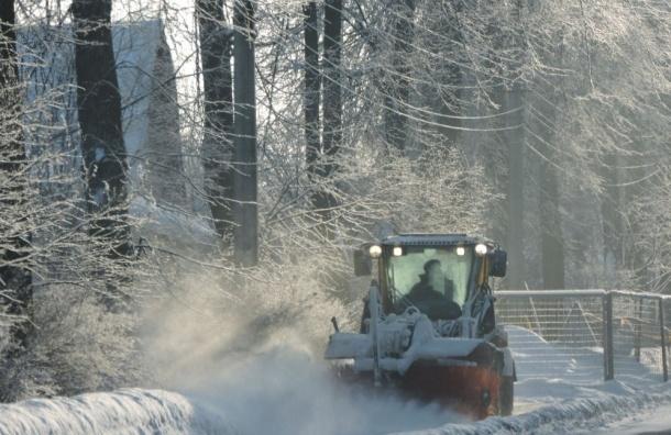 Уборка снега у«Зенит-Арены» весной стоит 6 млн