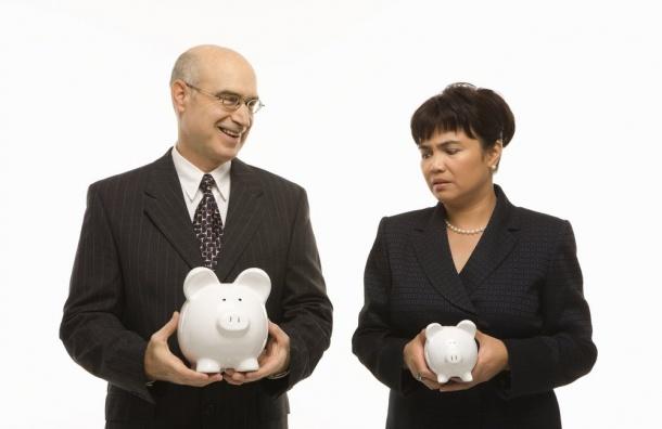 Женщины вРоссии готовы зарабатывать натреть меньше мужчин