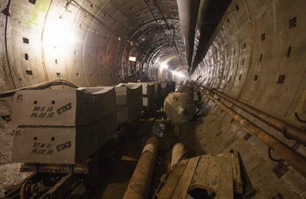 Строители метро устроили забастовку вПетербурге