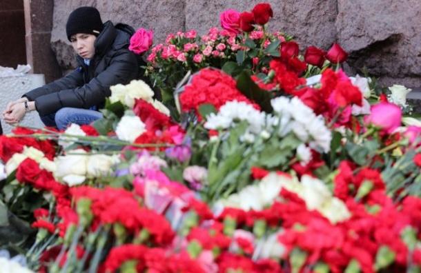 Смольный ждет отпетербуржцев инициативы попамятному знаку кгодовщине теракта