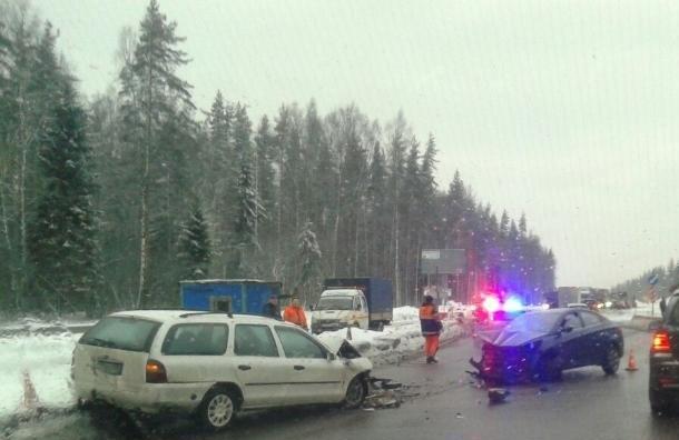 Два человека погибли встрашной аварии на«Скандинавии»