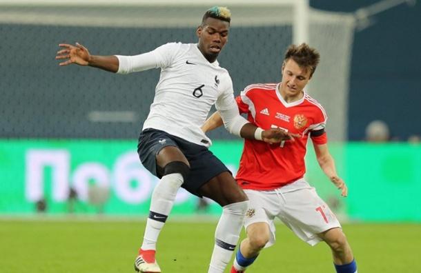 Россия проиграла Франции— 1:3