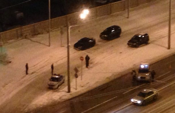ВПетербурге задержали водителя Hummer, подозреваемого встрельбе пополицейским