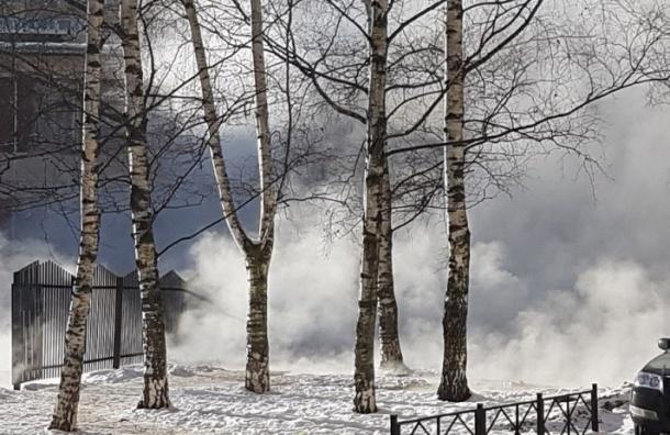 Трубу скипятком прорвало вдетсаду напроспекте Кузнецова