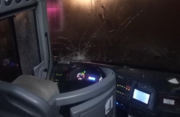 Легковушка протаранила автобус вПетербурге: есть жертвы