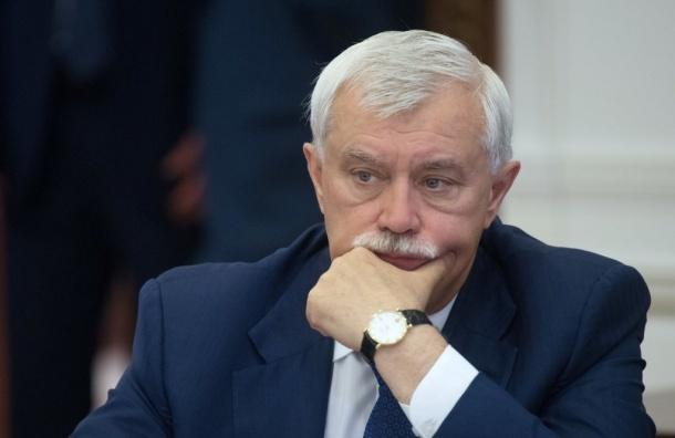 Полтавченко вошел врейтинг «губернаторов-мишеней»
